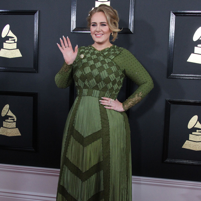 Adele - Feb 17 - Grammy Awards - Los Angeles - Splash